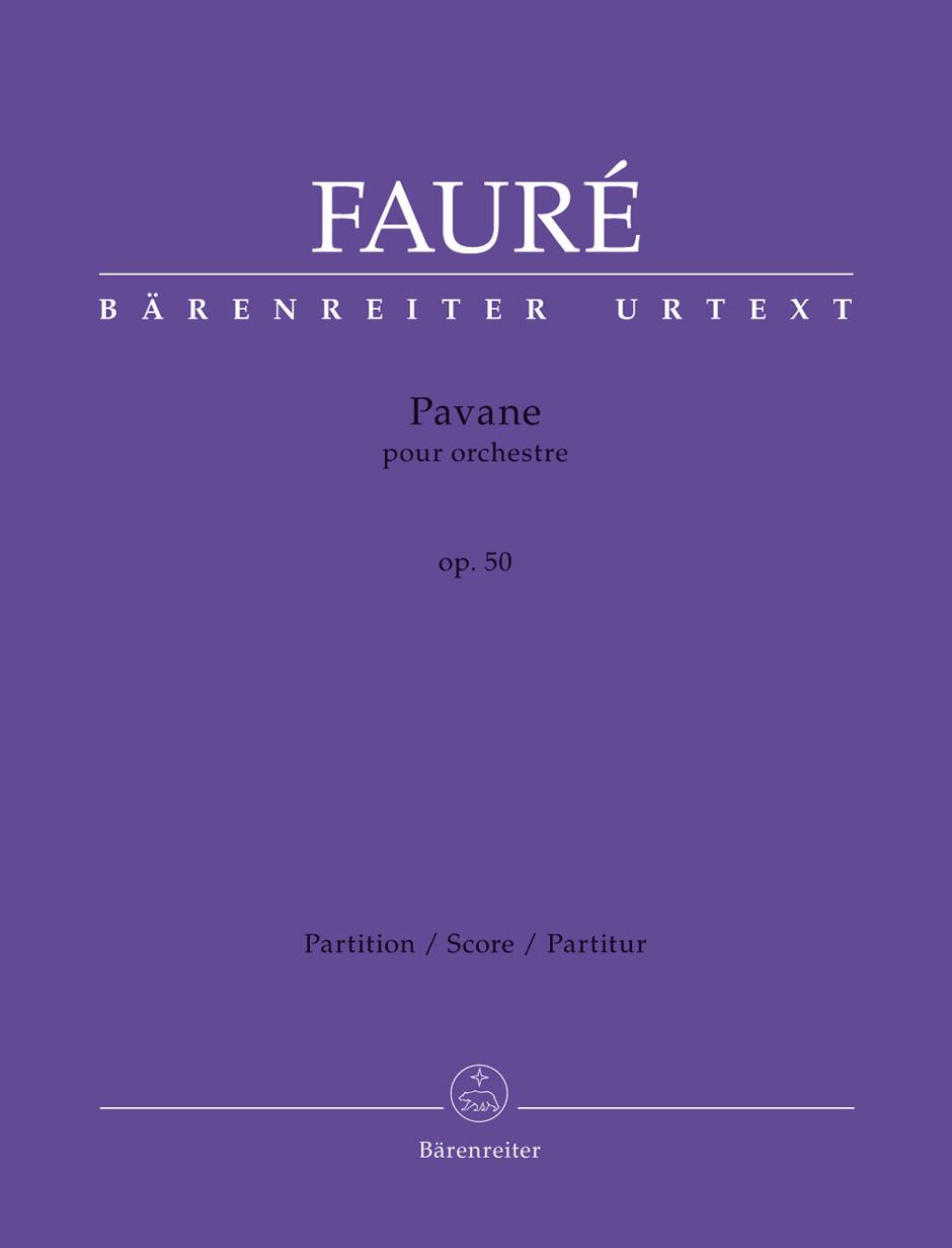 Gabriel Fauré: Pavane For Orchestra  Op.50 - Full Score: Orchestra: Score