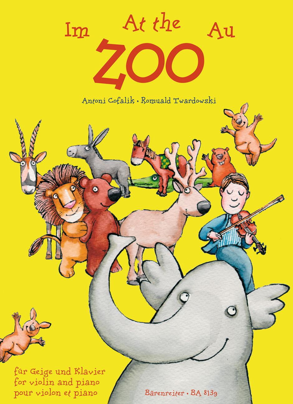 Antoni Cofalik: At the Zoo for Violin and Piano: Violin: Score and Parts