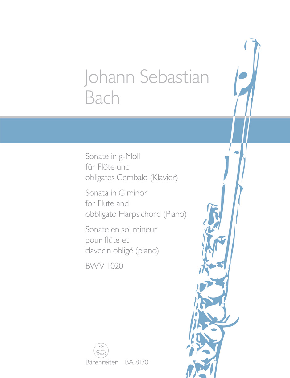 Johann Sebastian Bach: Sonate g-Moll BWV 1020: Flute: Instrumental Work