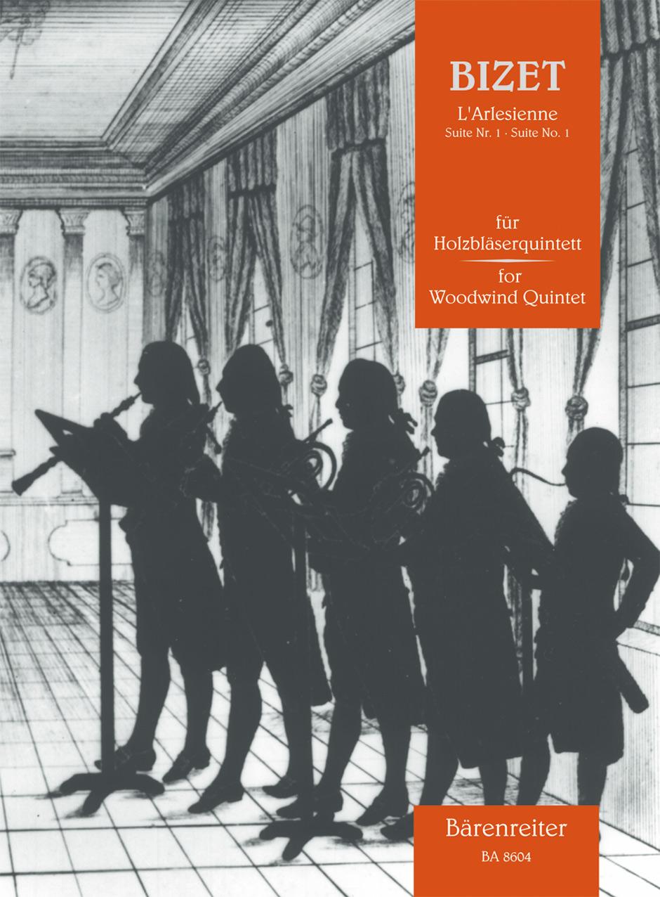 Georges Bizet: L'Arlésienne Suite Nr. 1 Für Holzbläserquintett: Wind Ensemble: