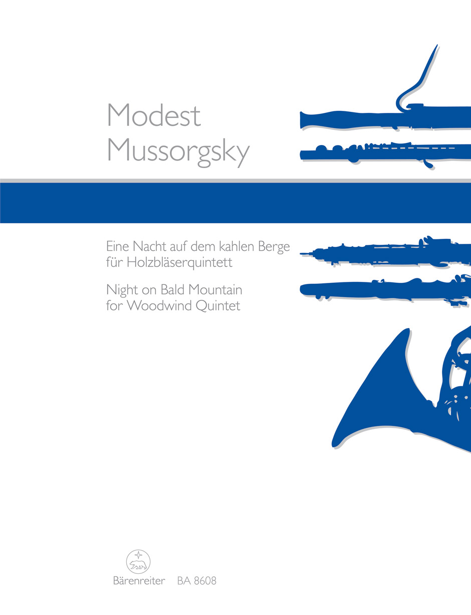 Modest Mussorgsky: Night on Bald Mountain: Wind Ensemble: Score and Parts