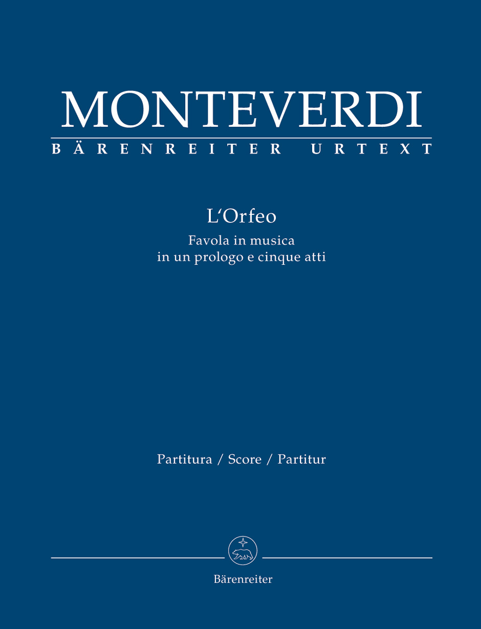Claudio Monteverdi: LOrfeo: Mixed Choir: Score