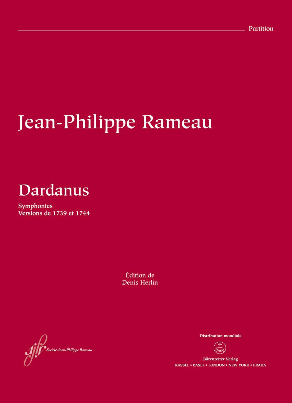 Jean-Philippe Rameau: Dardanus RCT 35A-35B: Orchestra: Score