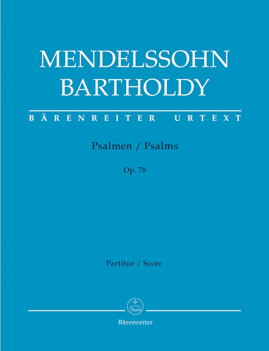 Felix Mendelssohn Bartholdy: Psalmen Op.78: Vocal