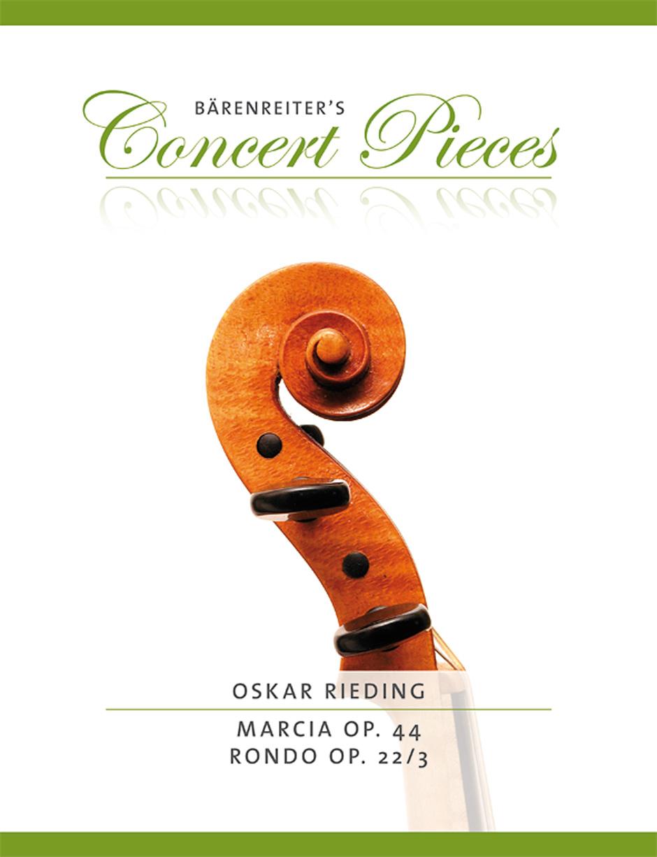 Oscar Rieding: Marcia Op.44 & Rondo Op.22/3: Violin: Instrumental Work