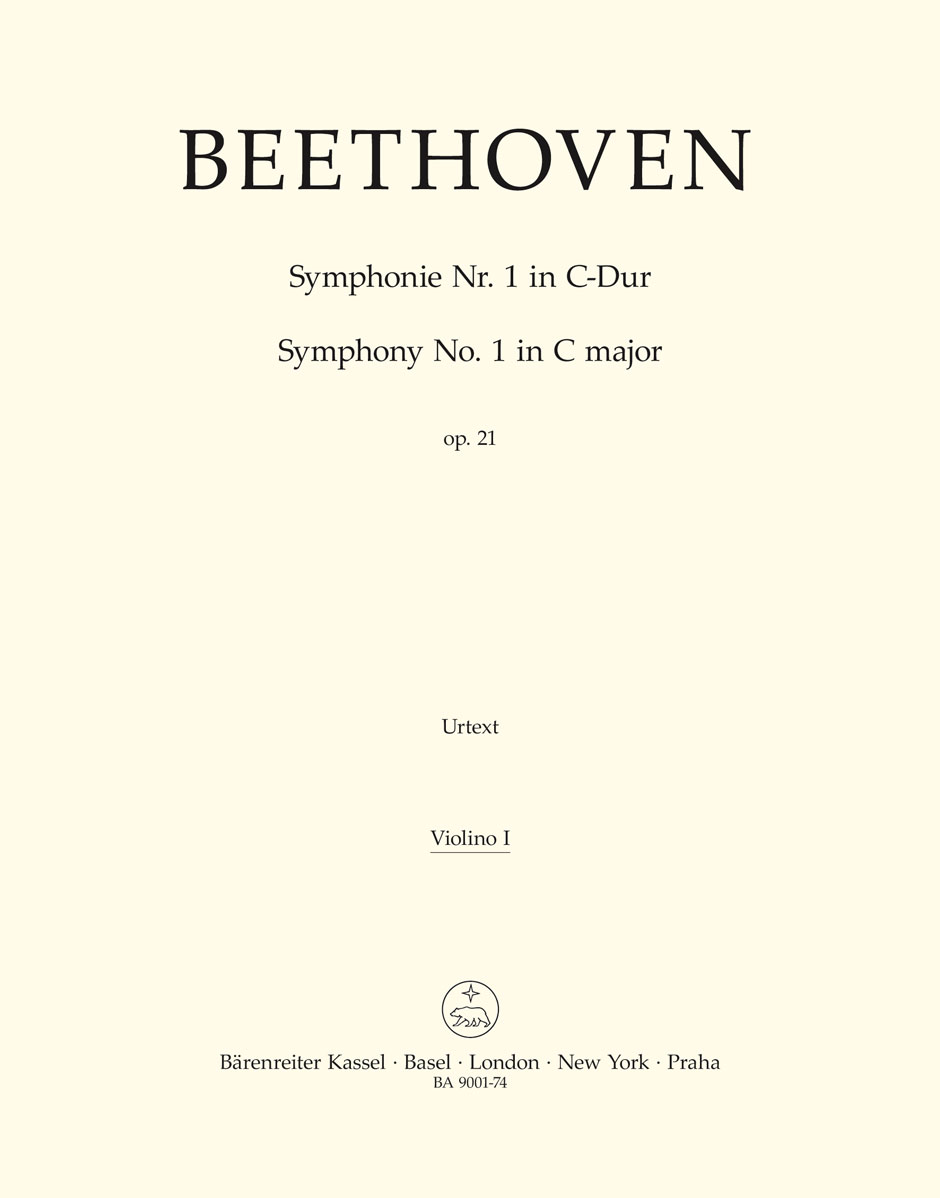 Ludwig van Beethoven: Symphony No.1 In C Op.21: Violin: Part