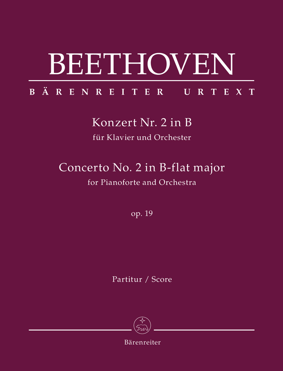 Ludwig van Beethoven: Concerto for Pianoforte and Orchestra Nr. 2: Piano: Score