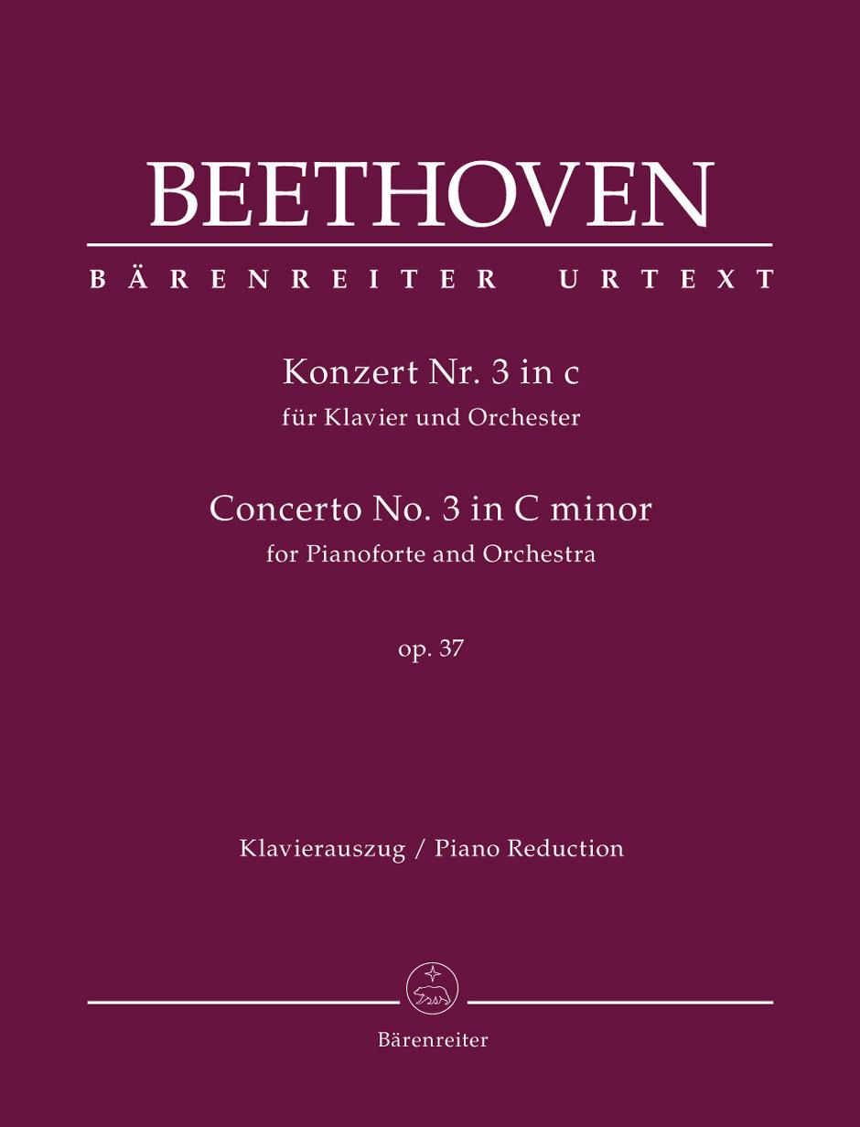 Ludwig van Beethoven: Concerto No.3 In C Minor Op.37 For Piano: Piano: Parts