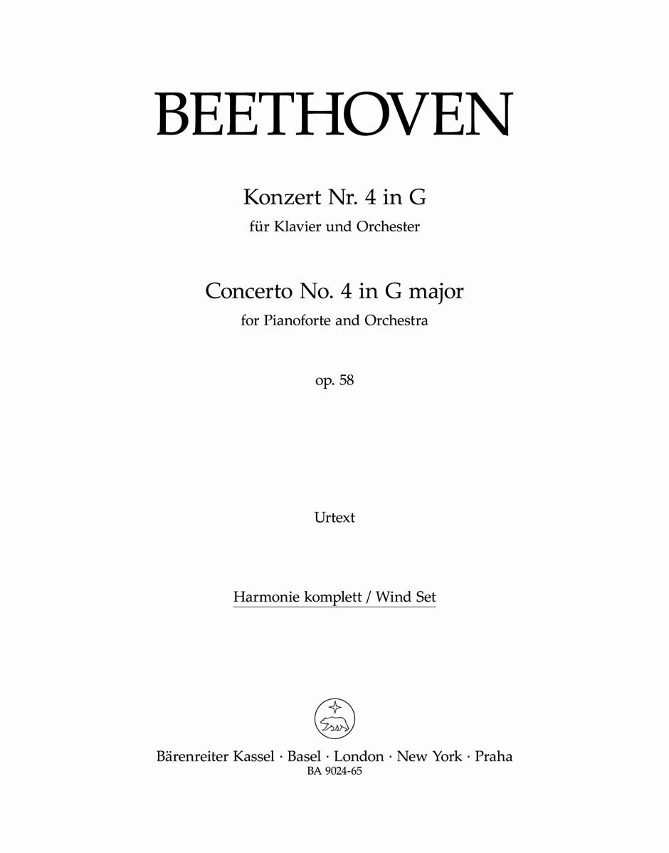 Ludwig van Beethoven: Piano Concerto No.4 In G Op.58: Piano: Parts