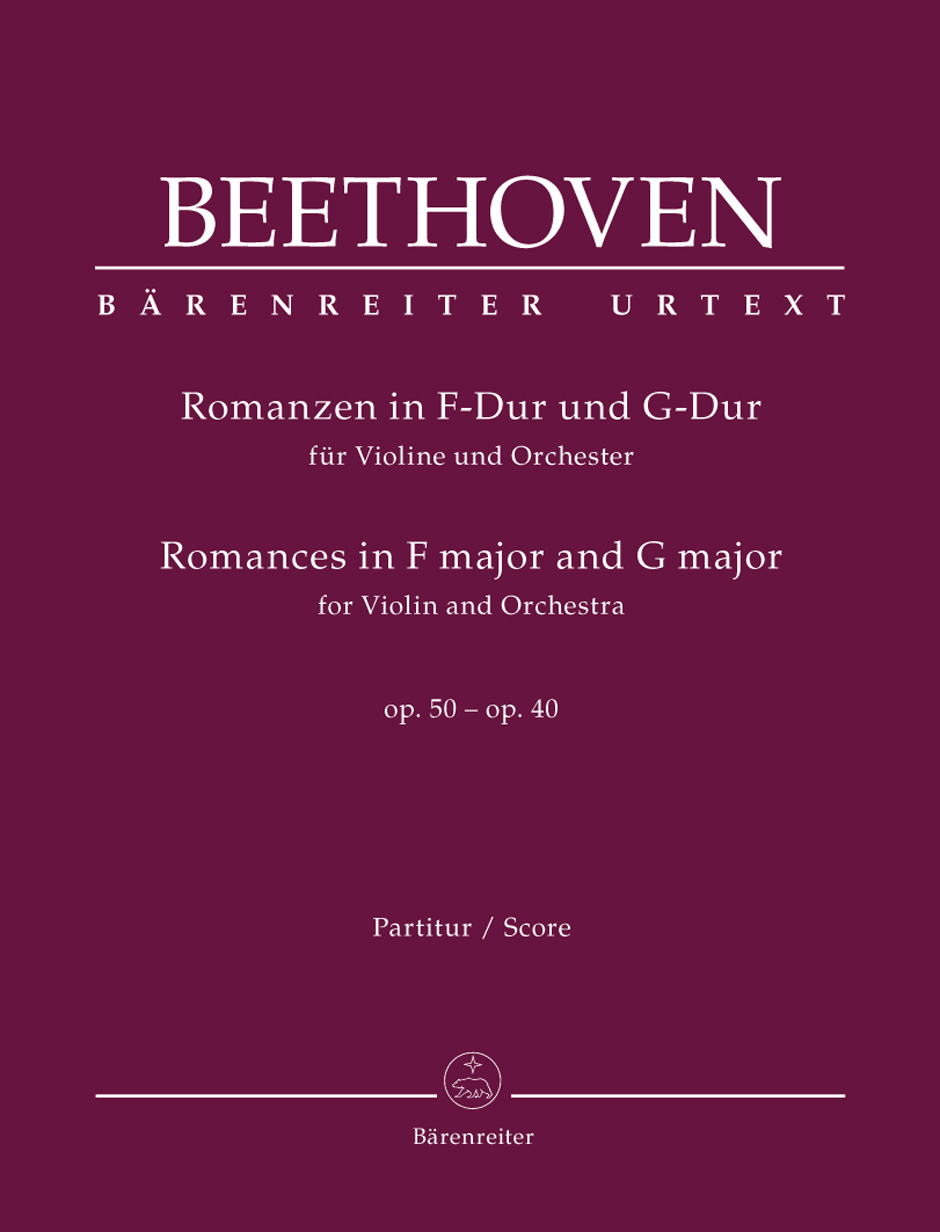 Ludwig van Beethoven: Romances In F And G For Violin And Orchestra: Orchestra: