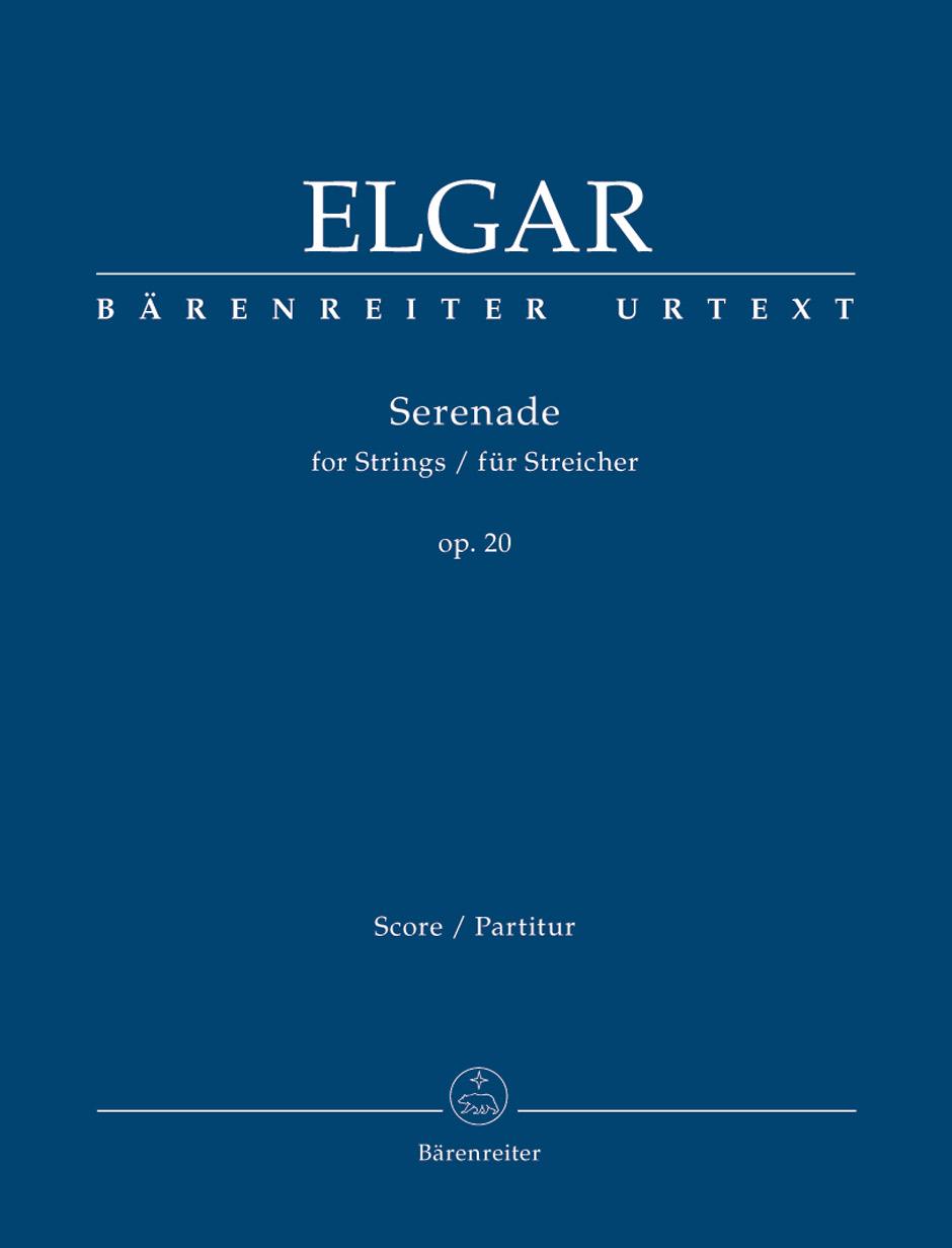Edward Elgar: Serenade For Strings Op.20: String Ensemble: Score