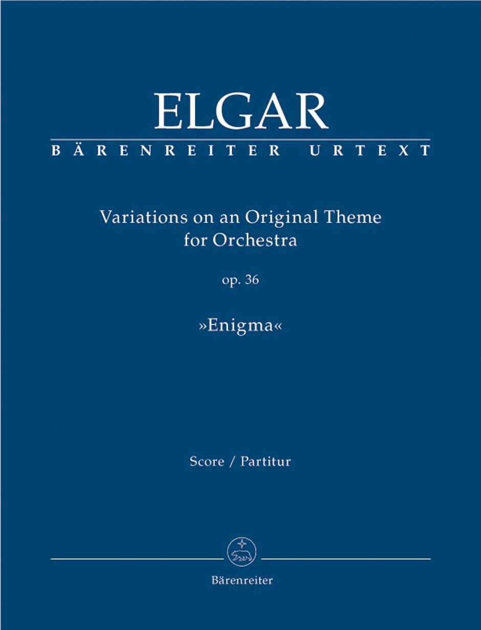 Edward Elgar: Variations on an Original Theme Opus 36: Orchestra: Score