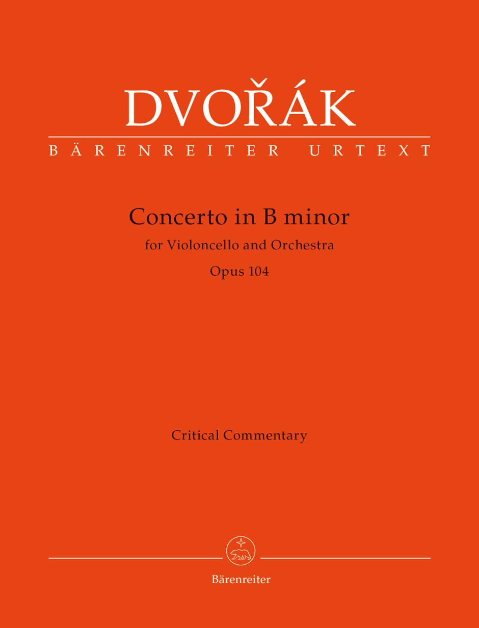 Antonín Dvo?ák: Cello Concerto In B Minor Op.104 (Critical Report): Cello: Score