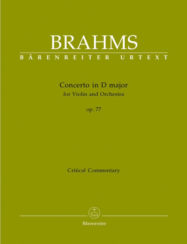 Johannes Brahms: Concerto: Violin: Reference