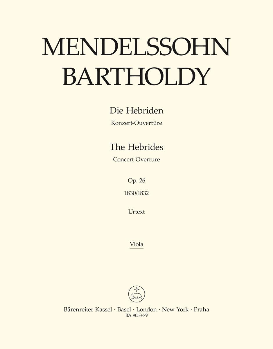 Felix Mendelssohn Bartholdy: The Hebrides Op.26: Orchestra: Part