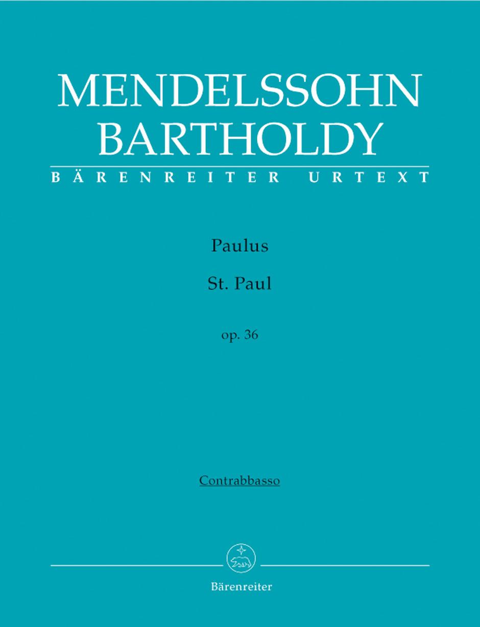 Felix Mendelssohn Bartholdy: St. Paul Op.36: SATB: Part
