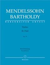 Felix Mendelssohn Bartholdy: St. Paul Op.36: SATB: Vocal Score