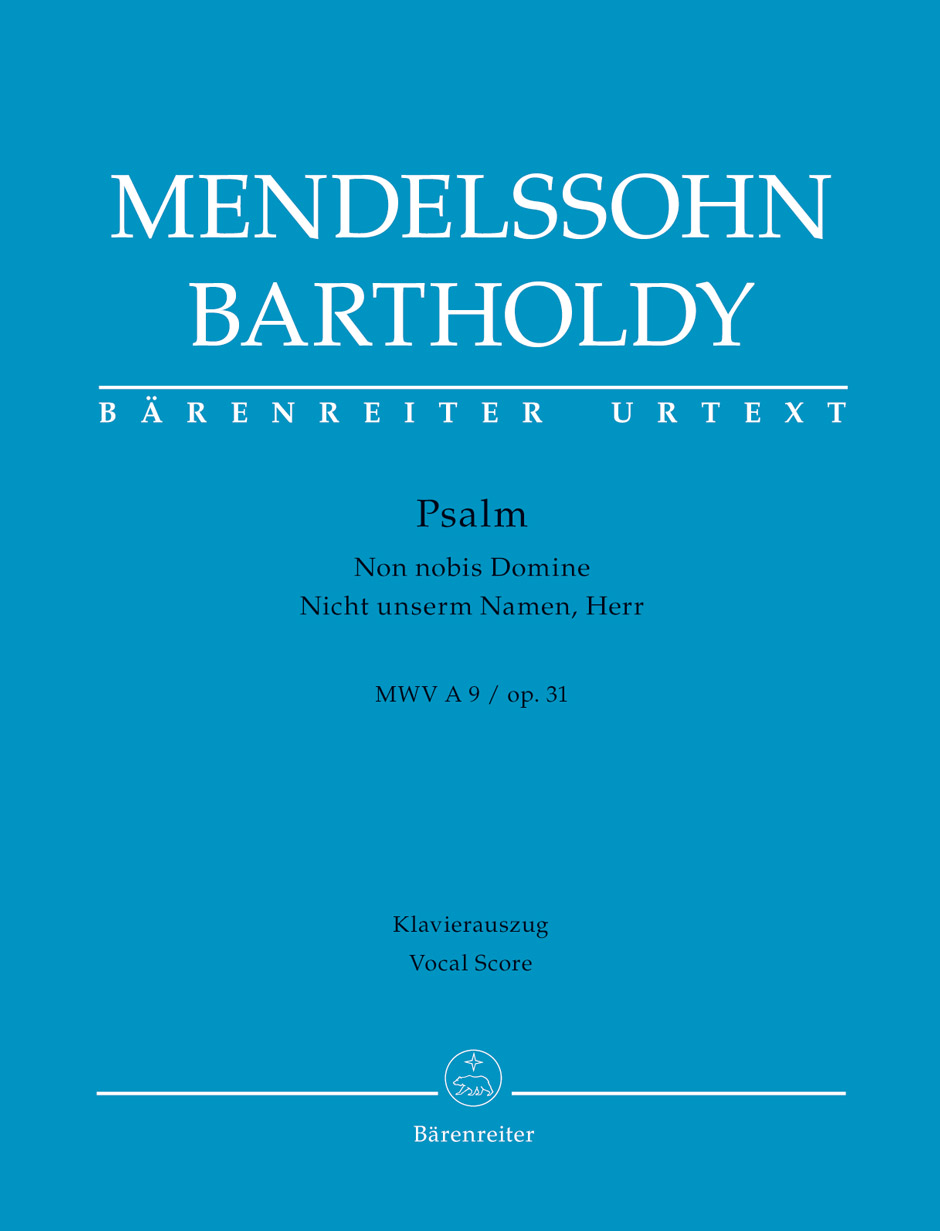 Felix Mendelssohn Bartholdy: Psalm Non nobis Domine op. 31: Mixed Choir: Vocal