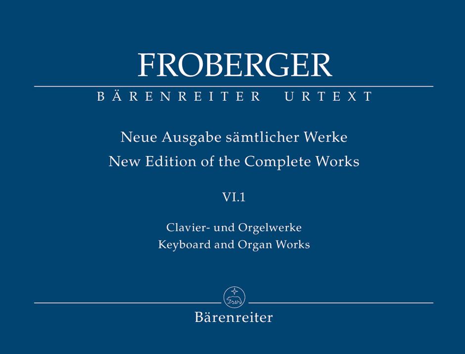 Johann Jakob Froberger: Orgelwerken 6 1 Org(P): Organ: Instrumental Album