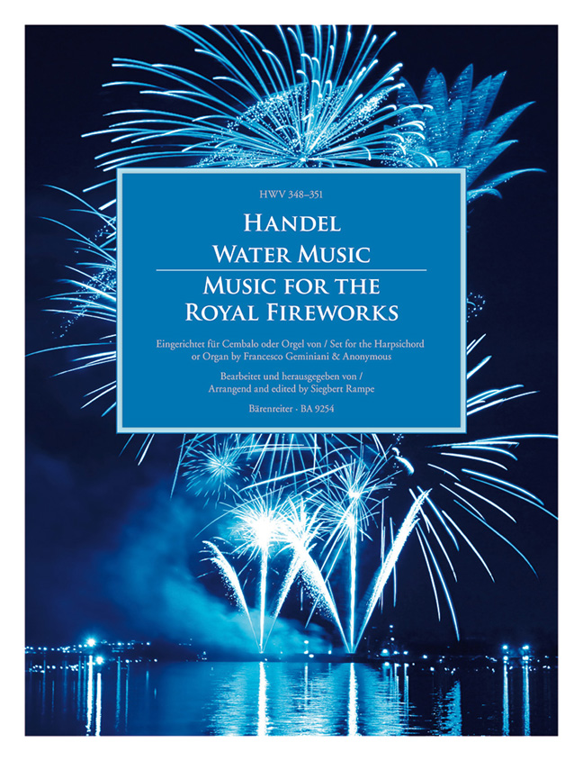 Georg Friedrich Händel: Water Music - Music For The Royal Fireworks: Organ: