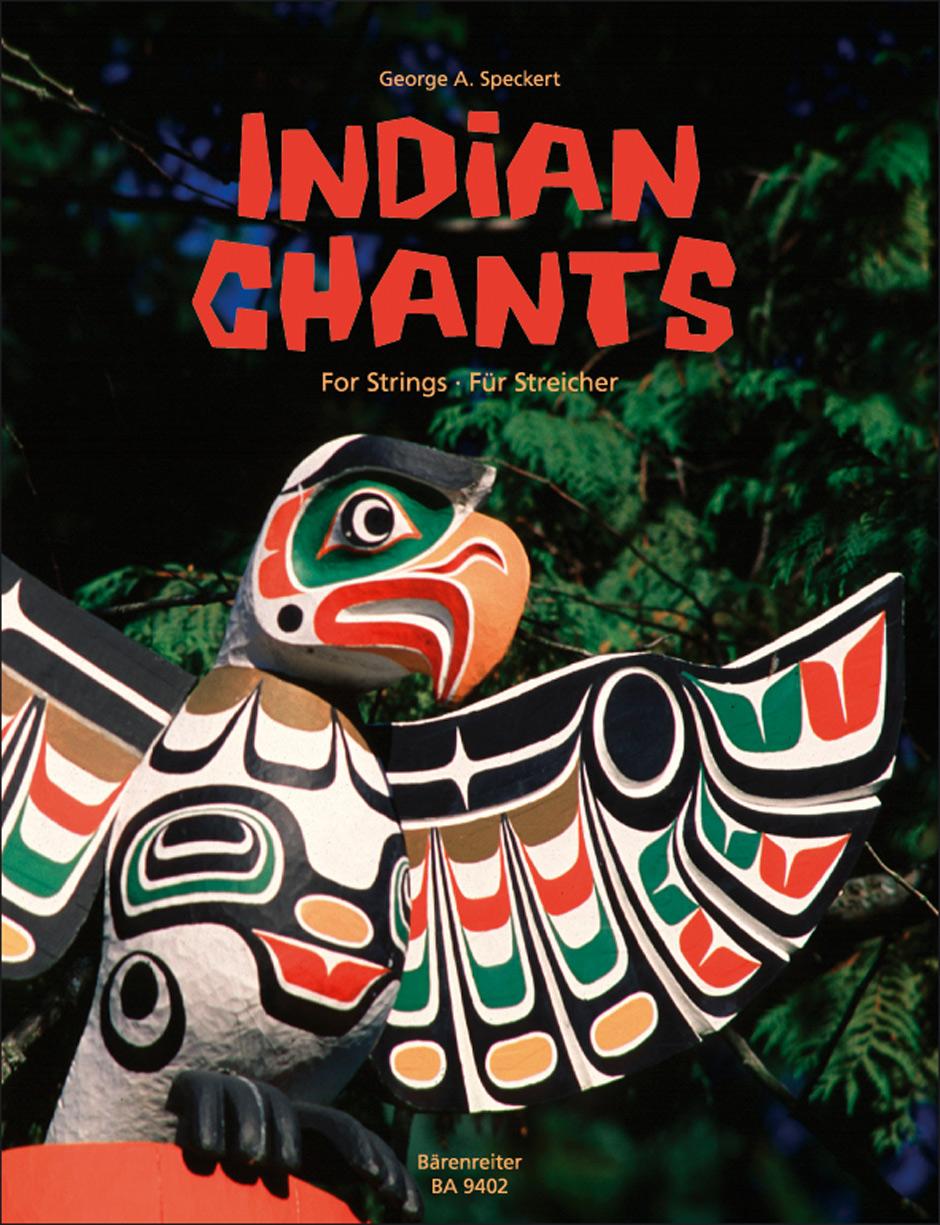 Speckert: Indian Chants Streicher: String Ensemble: Score and Parts