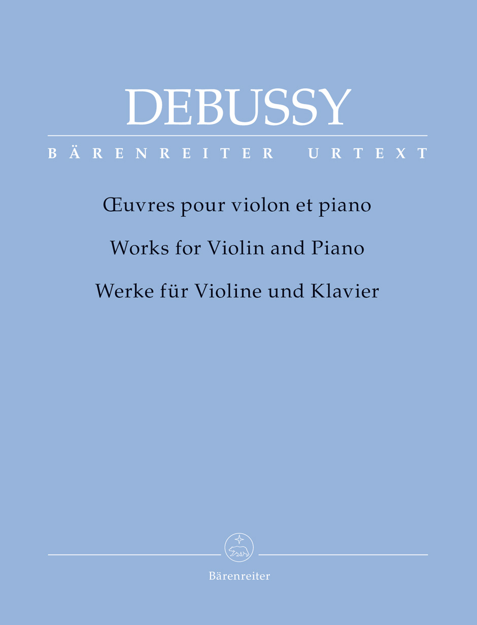 Claude Debussy: Oeuvres Pour Violon et Piano: Violin: Instrumental Album