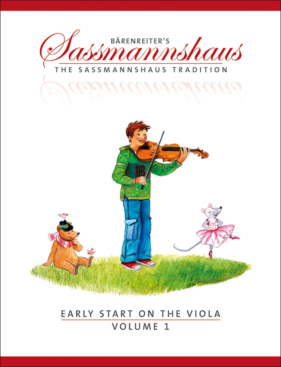 Egon Sassmannshaus: Early Start 1: Viola: Instrumental Tutor