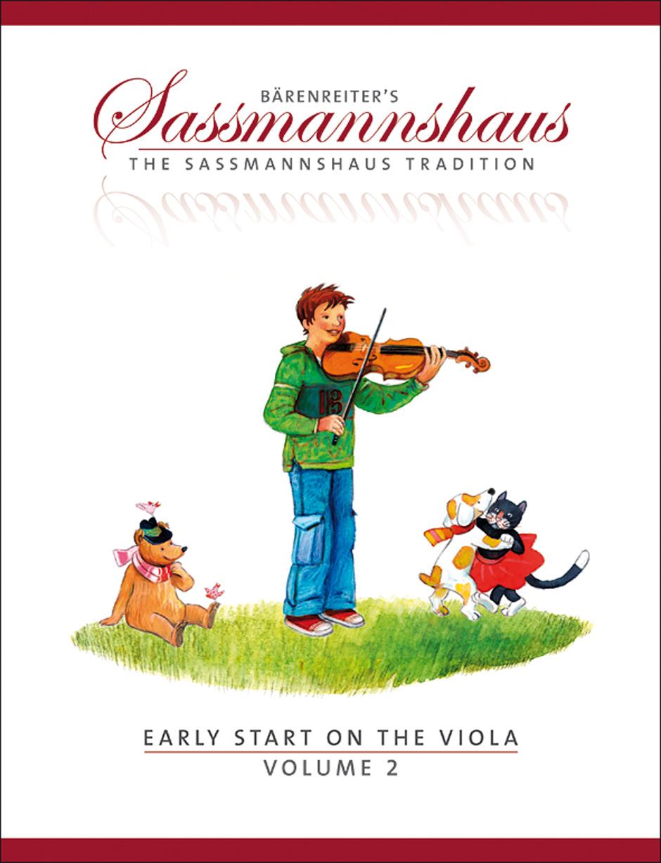 Egon Sassmannshaus: Early Start 2: Viola: Instrumental Tutor