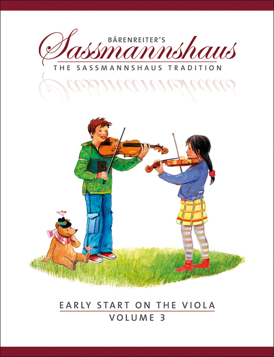 Egon Sassmannshaus: Early Start 3: Viola: Instrumental Tutor