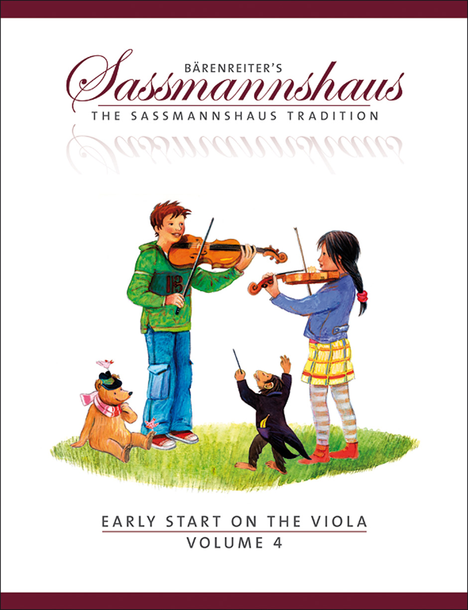 Egon Sassmannshaus Kurt Saßmannshaus: Early Start 4: Viola: Instrumental Tutor