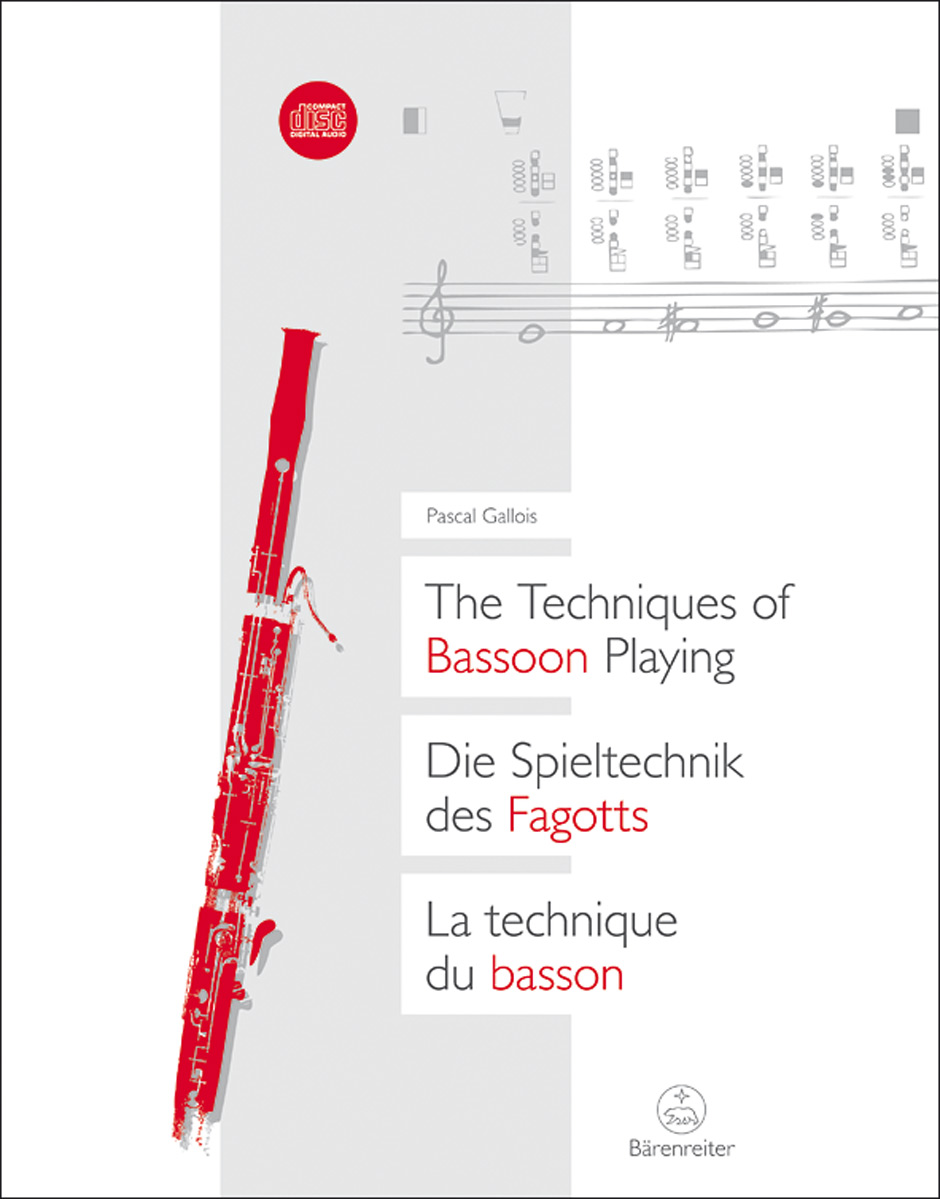 Patrick Gallois: Techniques Of Bassoon Playing: Bassoon: Instrumental Tutor
