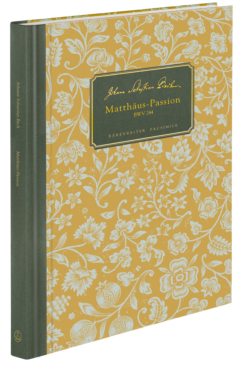 Johann Sebastian Bach: St Matthew Passion: Mixed Choir: Score