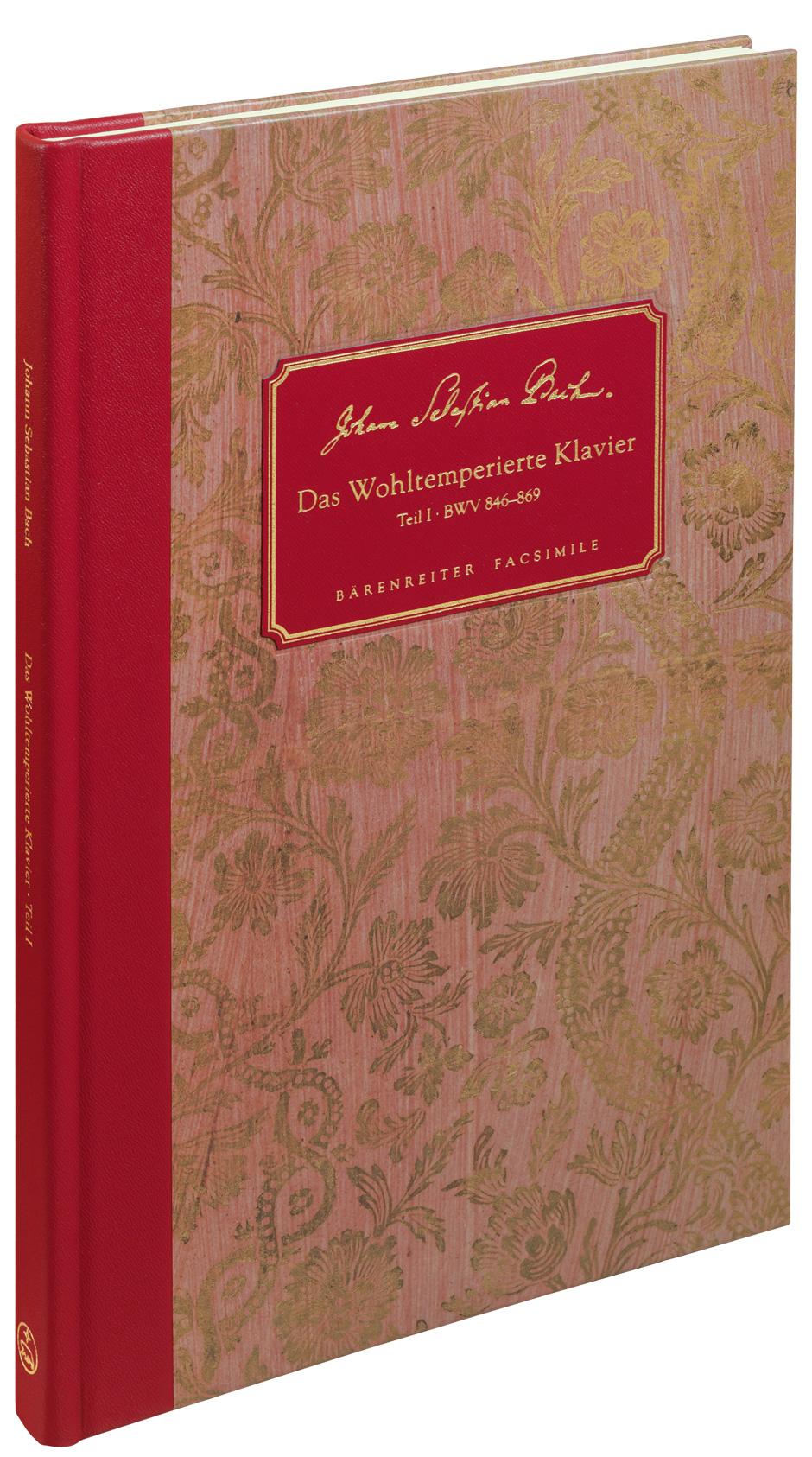 Johann Sebastian Bach: Well-Tempered Clavier - Book 1 BWV 846-869: Piano: Score