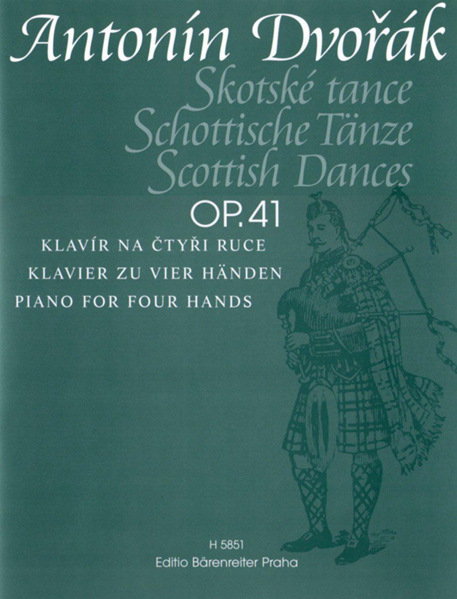 Antonín Dvo?ák: Schottische Tanze: Piano Duet: Instrumental Album