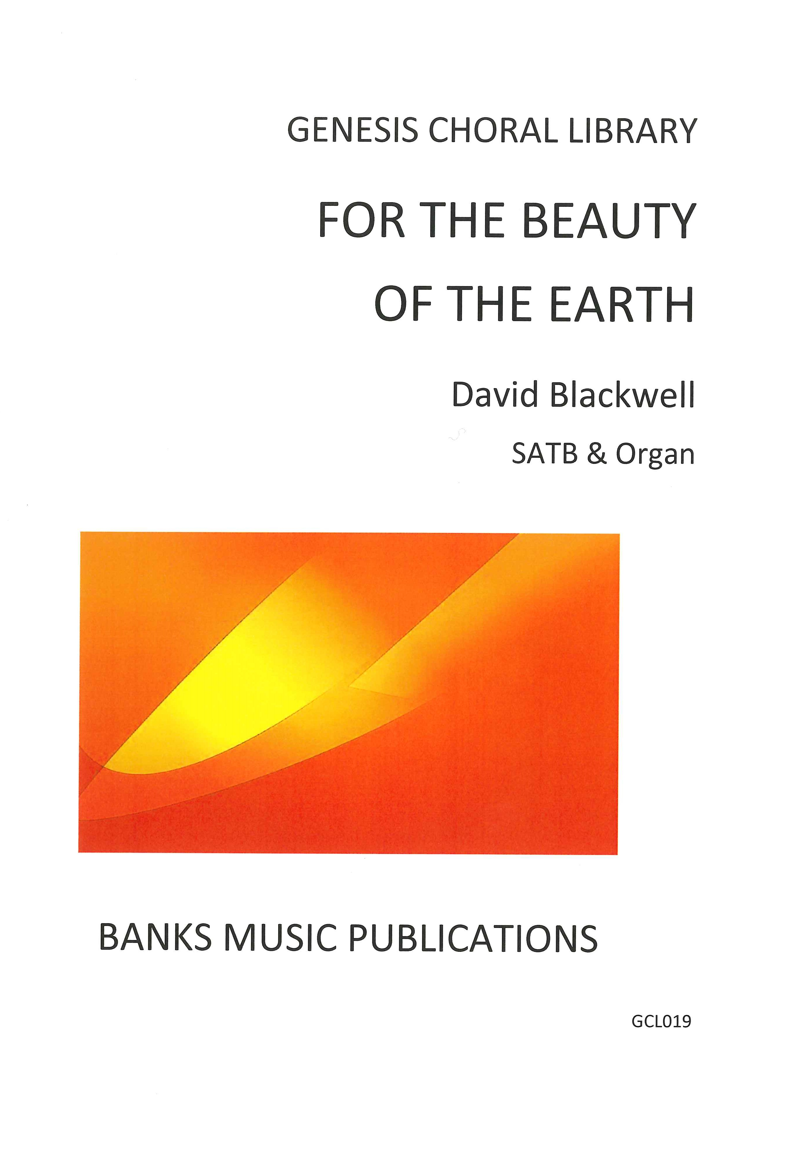 For The Beauty Of The Earth: SATB: Vocal Score