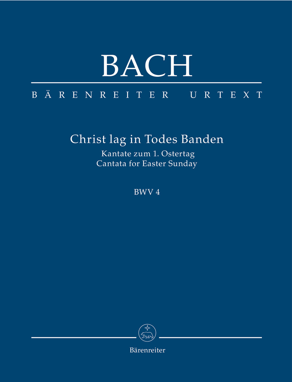 Johann Sebastian Bach: Cantata BWV 4 Christ lag In Todes Banden: Mixed Choir: