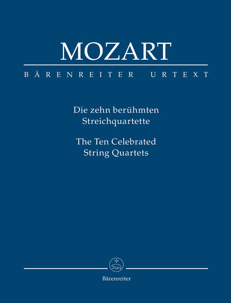 Wolfgang Amadeus Mozart: Die Zehn Berühmten Streichquartette: String Quartet: