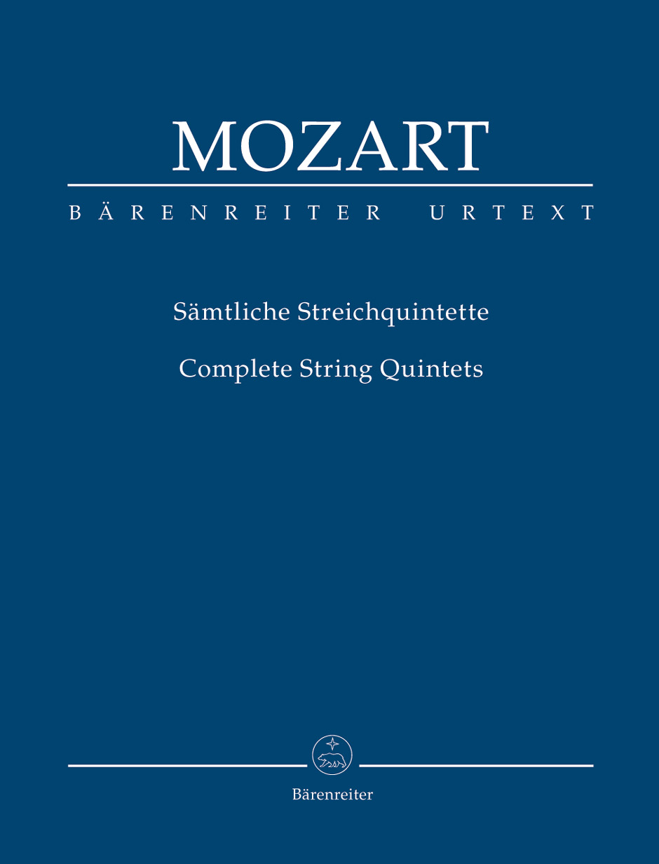 Wolfgang Amadeus Mozart: String Quintets: String Ensemble: Study Score
