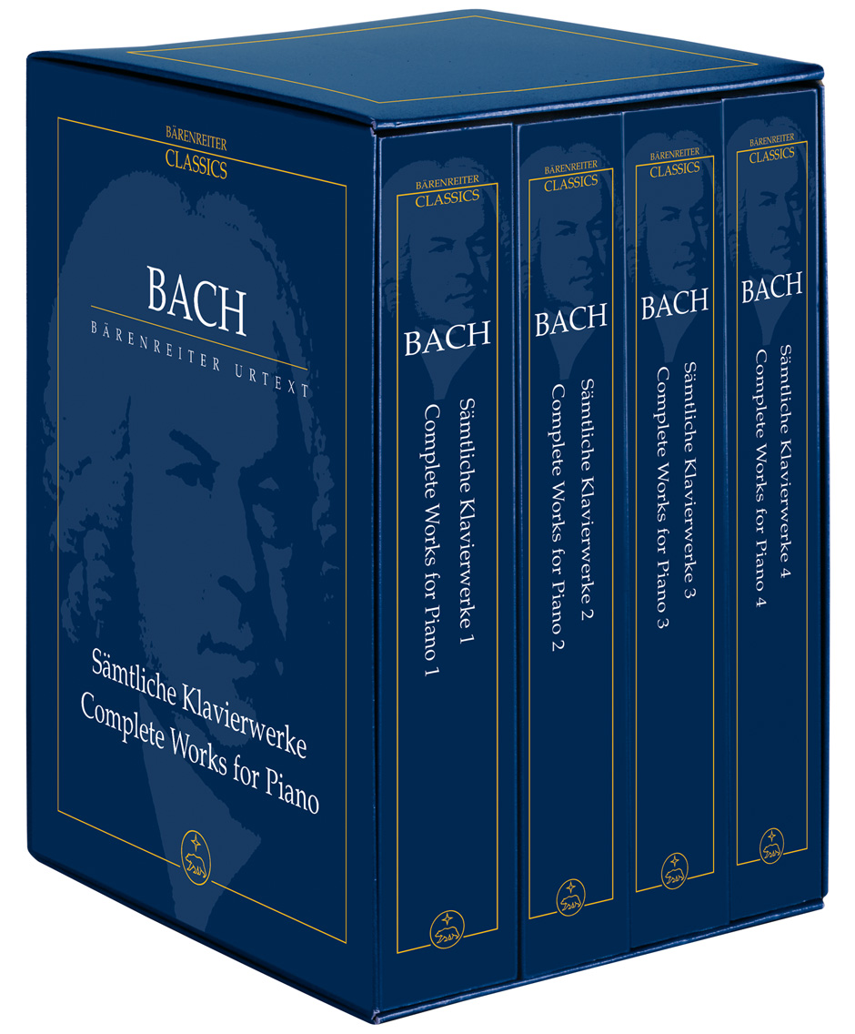 Johann Sebastian Bach: The Complete Piano Works in Four Volumes: Piano: