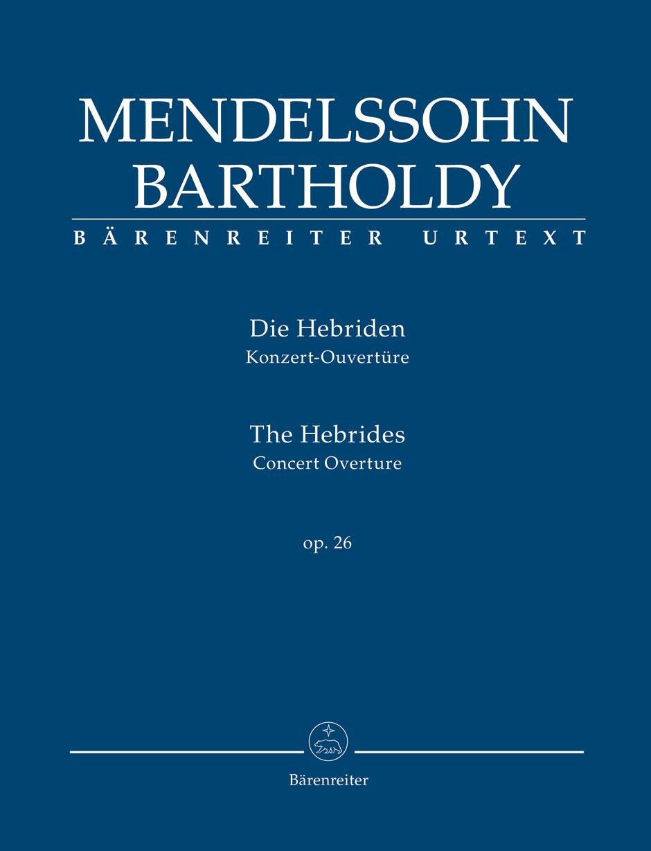 Felix Mendelssohn Bartholdy: The Hebrides Op.26: Orchestra: Study Score