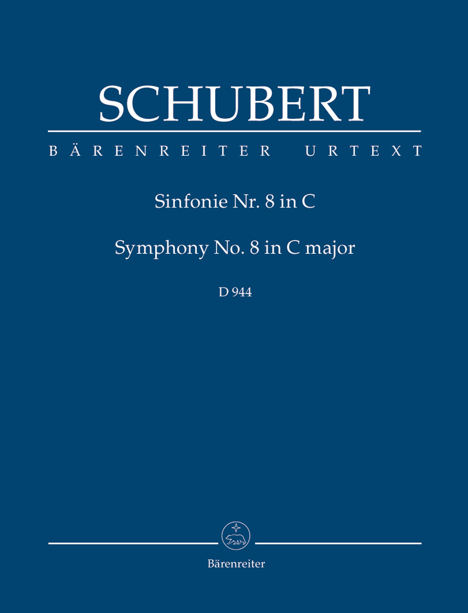 Franz Schubert: Symphony No. 8 in C major The Great: Orchestra: Study Score