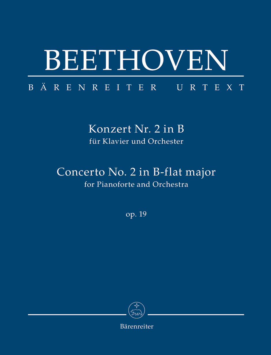 Ludwig van Beethoven: Piano Concerto No.2 In B-Flat Op.19: Piano: Study Score