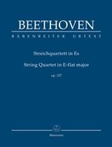 Ludwig van Beethoven: String Quartet E-Flat Major Op. 127: String Quartet: Study