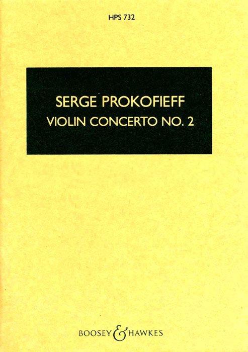 Sergei Prokofiev: Violin Concerto No. 2: Violin: Study Score