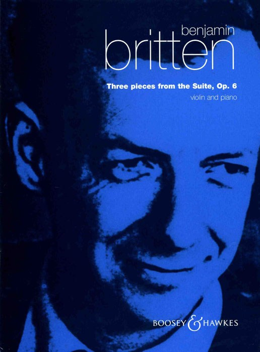 Benjamin Britten: 3 Pieces From Suite Op.6: Violin: Instrumental Work