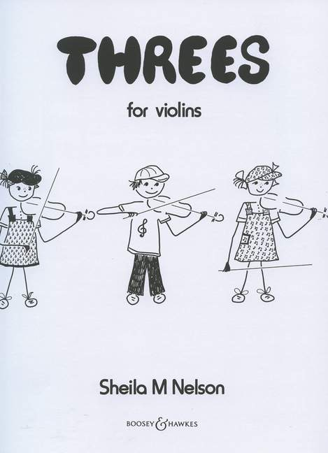 Sheila Mary Nelson: Threes For Violins: Violin Ensemble: Instrumental Album