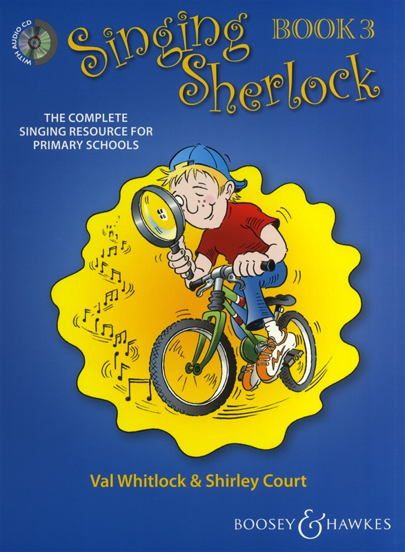 Shirley Court: Singing Sherlock Vol. 3: Children's Choir: Vocal Album