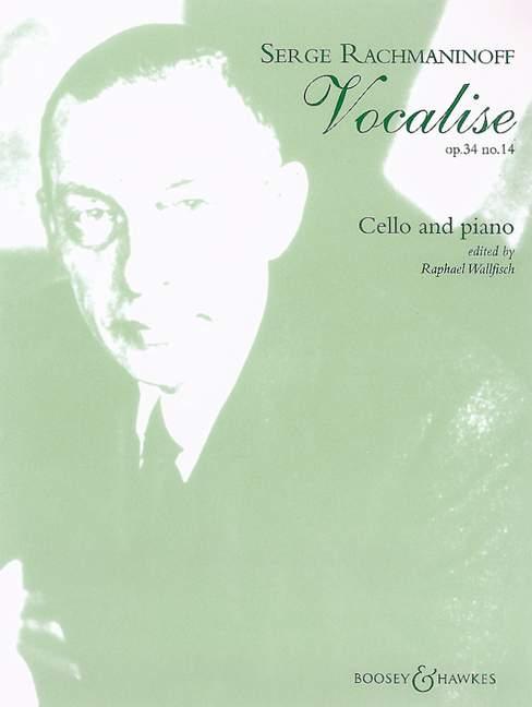 Sergei Rachmaninov: Vocalise Op.34 No.14: Cello: Instrumental Work