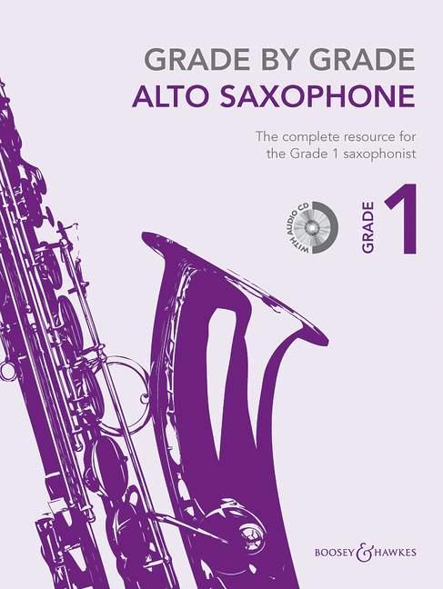 Janet Way: Grade by Grade - Alto Saxophone: Alto Saxophone: Instrumental Tutor