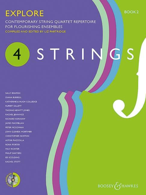 4 Strings - Explore Book 2: String Quartet: Instrumental Tutor